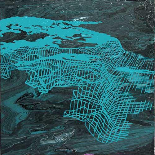 """Terra Nova, 18x18"""", acrylic on canvas"""