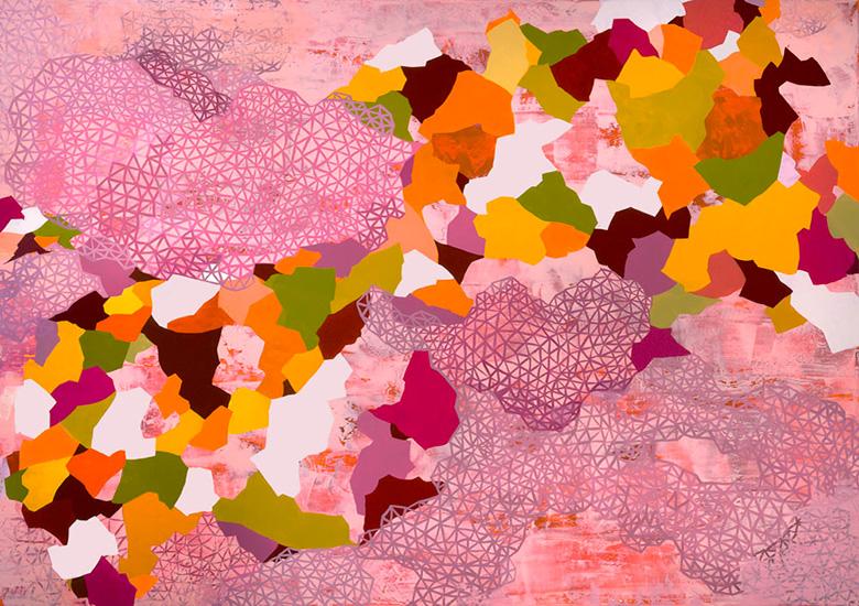 "new world, 60x85"", acrylic on canvas"