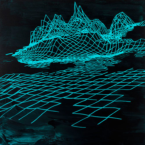 Guaymas I, 48X48   Acrylic On Canvas