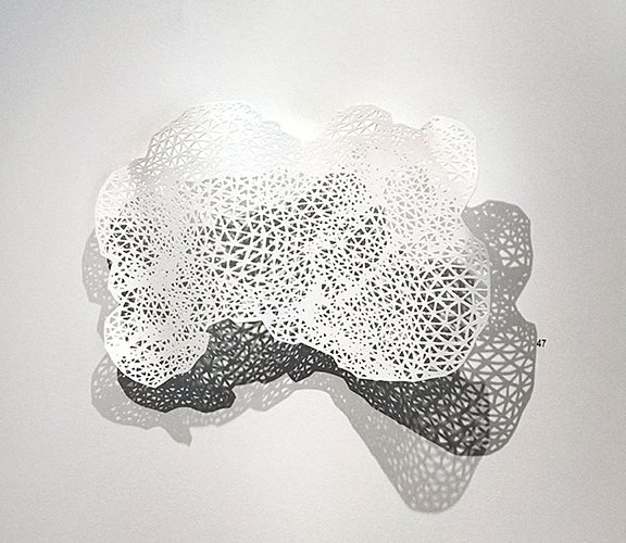 Chautauqua Cloud, 20x30 | Powder Coated Steel