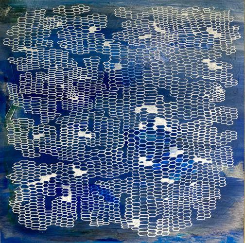shift#2 | 12x12 | acrylic on paper