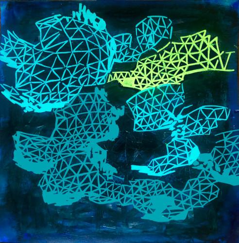 shift#15 | 12x12 | acrylic on paper