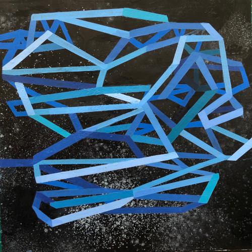 shift#18 | 12x12 | acrylic on paper