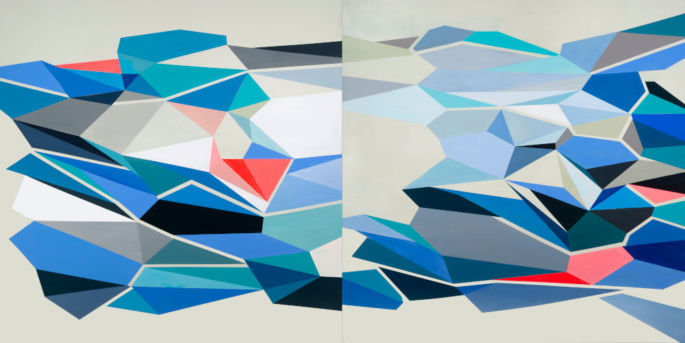 JaggedTruths Series I | 60x120 | acrylic on canvas