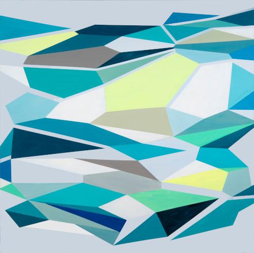 JaggedTruths Series II | 60x120 | acrylic on canvas