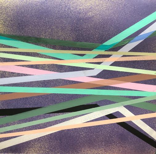 shift#23 | 12x12 | acrylic on paper