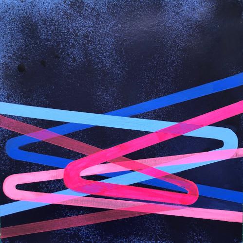 shift#24 | 12x12 | acrylic on paper