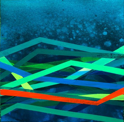 shift#25 | 12x12 | acrylic on paper